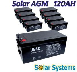 Battery AGM 120ah